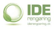 IDE Rengøring logo