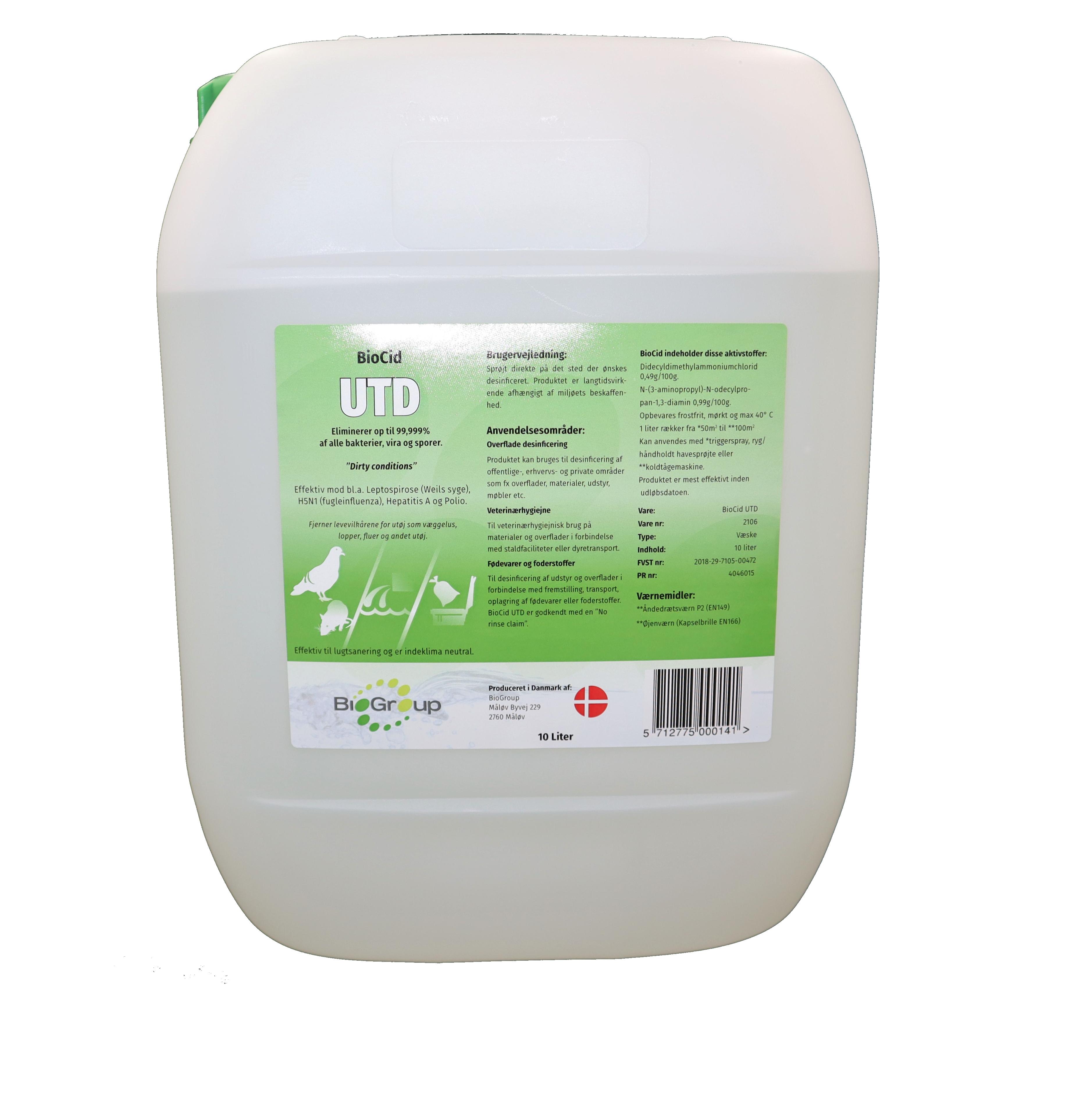 BioCid UTD 10 L