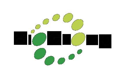 Biogroup logo u. baggrund