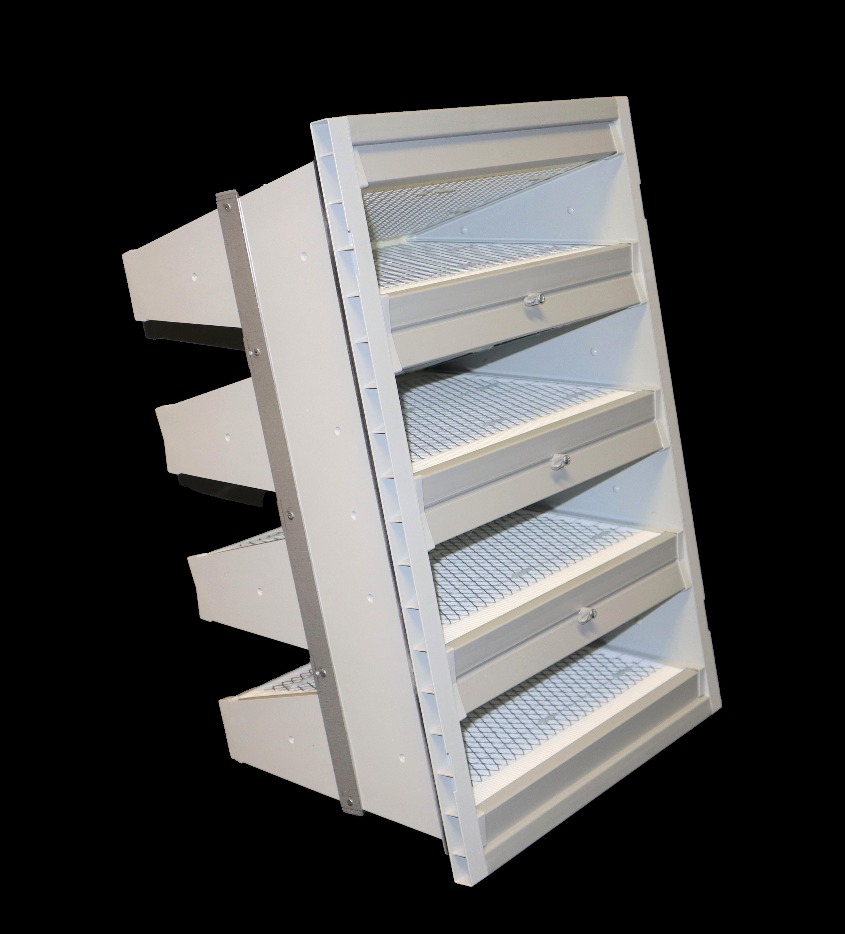 1200 V-Bank VOC filter