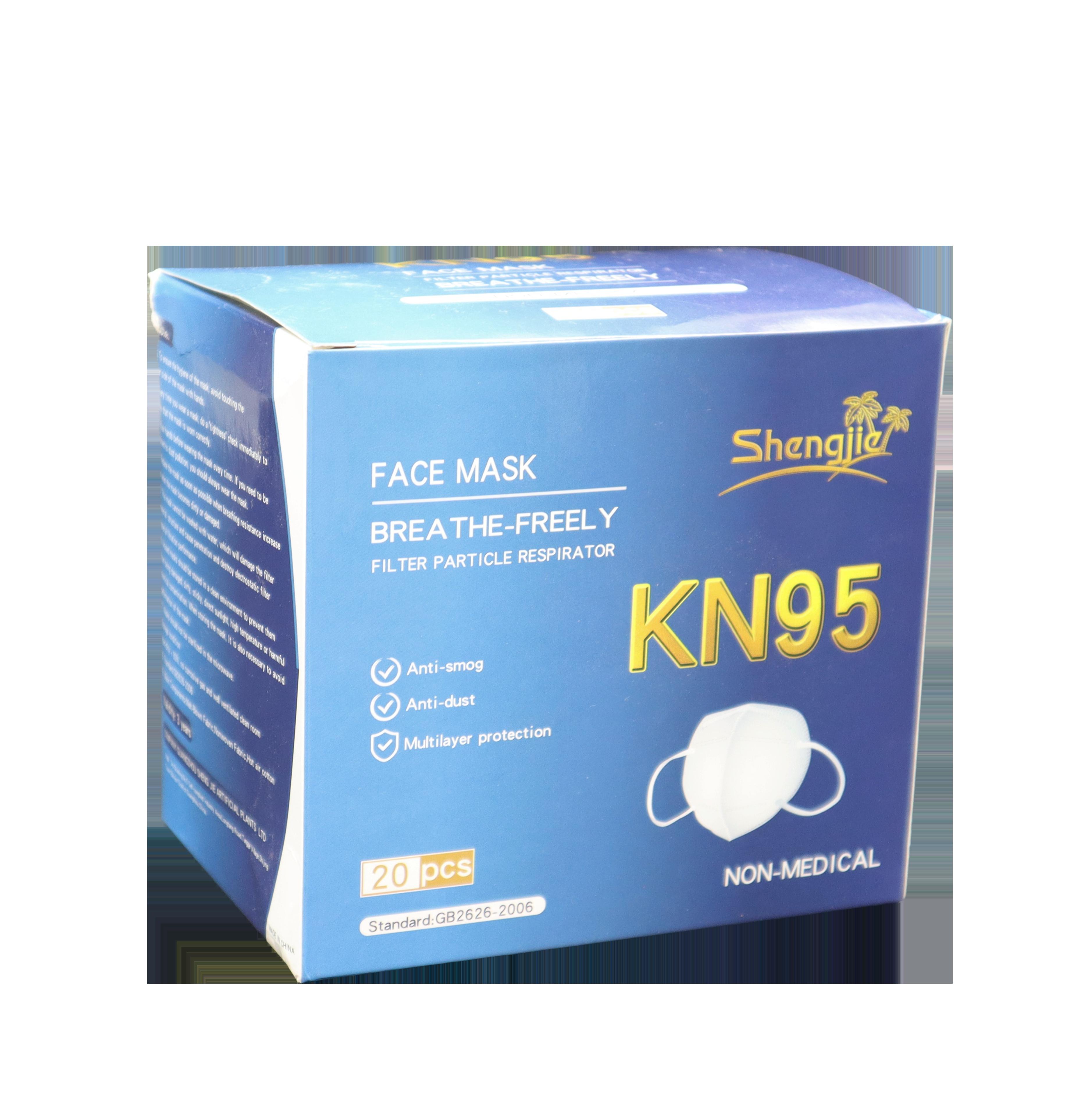 KN95 maske mørkeblå